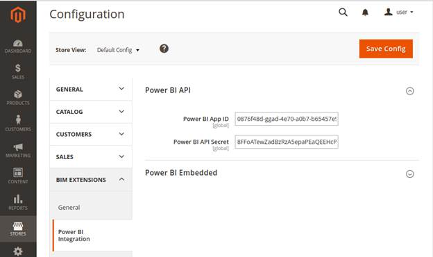 Power BI Cliend ID and Cliend Secret configuration