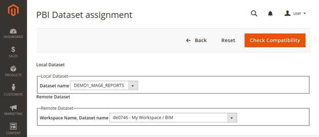 dataset assignment form